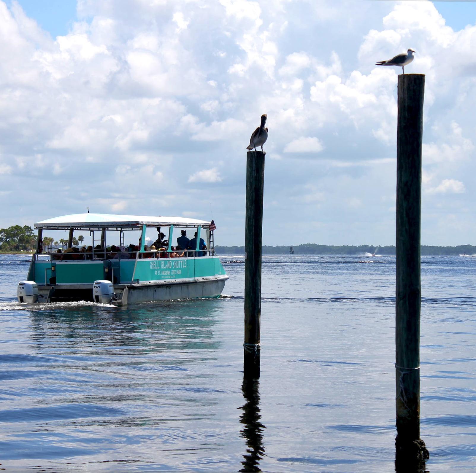 How to Get to Shell Island Panama City Beach Florida   Shell